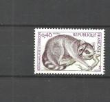 Franta 1973 - ANIMALE SALBATICE, RATON, timbru nestampilat B166