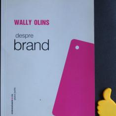 Despre brand Wally Olins - Carte de publicitate