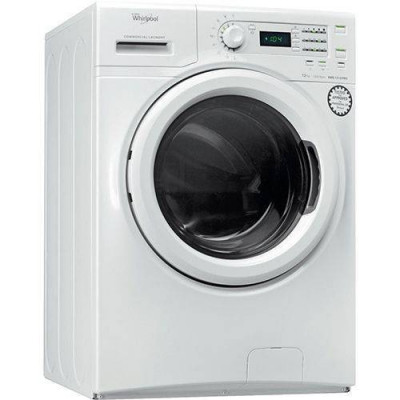 Masina de spalat rufe Whirlpool AWG 1212 / Pro 1200RPM 12Kg Alb foto