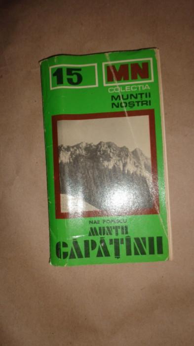 Muntii Capatanii colectia muntii nostri nr.15/ cu harta