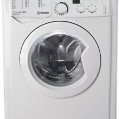Masina de spalat rufe slim Indesit EWSD 61252 W EU, 6 KG, 1200 RPM, Clasa A++ (Alb)