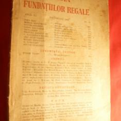 Revista Fundatiilor Regale -dec.1944 ,cu E.Isac,M.Sadoveanu ,T.Arghezi ,Brancusi