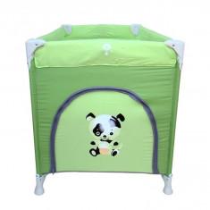 Patut pliabil Pierre Cardin PS130 - Patut pliant bebelusi Pierre Cardin, 120x60cm, Verde