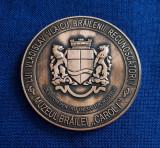 """Medalie Muzeul Brailei """" Carol I """" -  Vladislav Vlaicu - Braila"""