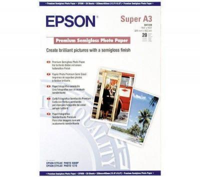 Consumabil Epson Consumabil Hartie fotografica semi-lucioasa Premium A3+ foto