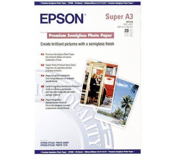 Consumabil Epson Consumabil Hartie fotografica semi-lucioasa Premium A3+ foto mare