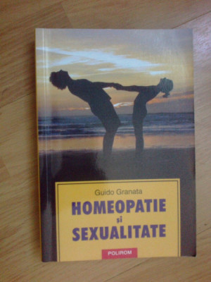 n2 Guido Granata - Homeopatie si sexualitate foto