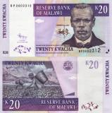 MALAWI 20 kwacha 2009 UNC!!!