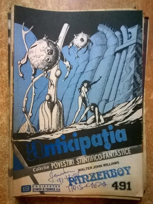 Colectia Povestiri Stiintifico-Fantastice nr. 491