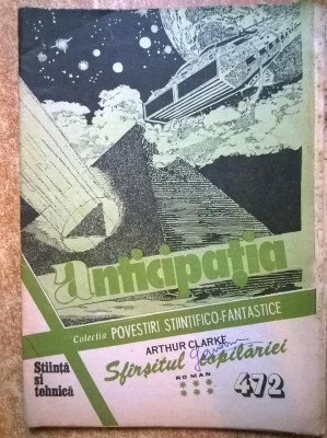 Colectia Povestiri Stiintifico-Fantastice nr. 472 foto