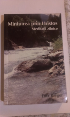 MANTUIREA  PRIN  HRISTOS - MEDITATII  ZILNICE foto