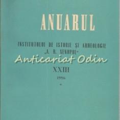 Anuarul Institutului De Istorie Si Arheologie A. D. Xenopol XXII