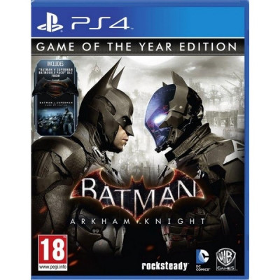 Batman Arkham Knight Game Of The Year PS4 Xbox One foto