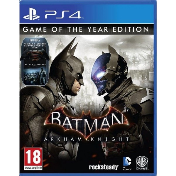 Batman Arkham Knight Game Of The Year PS4 Xbox One foto mare