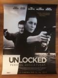 Poster Unlocked 92 x 68 cm, Alte tipuri suport, Altele