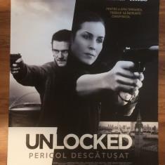 Poster Unlocked 92 x 68 cm - Film Colectie, Alte tipuri suport, Altele