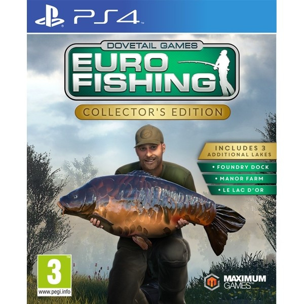 Euro Fishing PS4 Xbox One foto mare