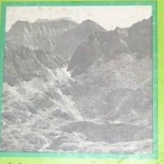 Fagaras de Val. Balaceanu Colectia Muntii Nostri + harta