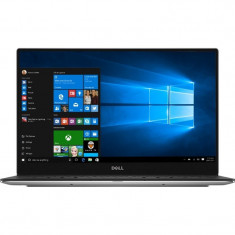 Ultrabook DELL 13.3'' New XPS 13 (9360), FHD InfinityEdge, Procesor Intel Core i5-7200U, 8GB, 256GB SSD, GMA HD 620, Win 10 Home, Silver - Laptop Dell