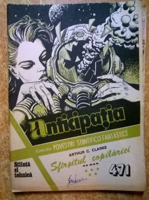 Colectia Povestiri Stiintifico-Fantastice nr. 471 foto