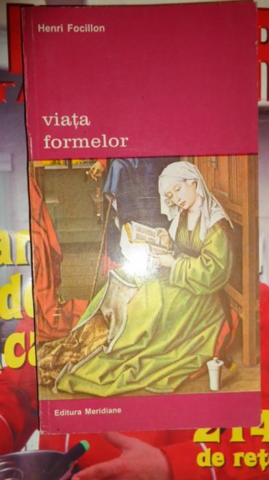 VIATA FORMELOR 131PAGINI= HENRI FACILLON