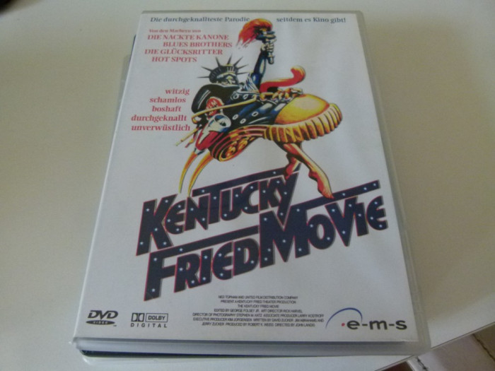 kentucky fried movie - dvd foto mare