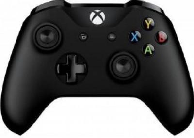 Gamepad Microsoft Xbox ONE S Wireless Controller Black foto