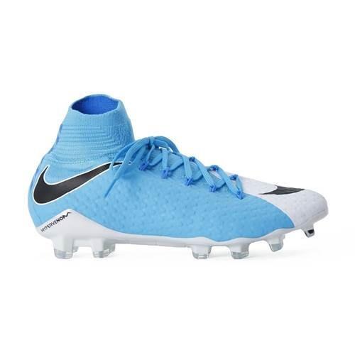 Ghete Fotbal Nike Hypervenom JR Phantom 3 DF FG 882087616 foto mare