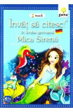 Invat sa citesc in limba germana - Mica sirena - Nivelul 1