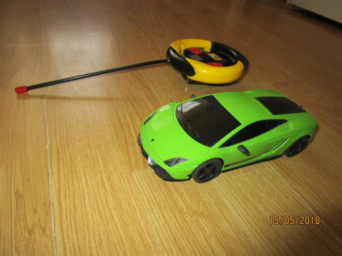 Masinuta Lamborghini cu telecomanda Scara 1:26 (18cm)