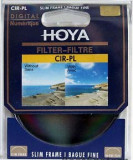 Filtru Hoya CPL, polarizare circulara, 77mm 77 mm, nou