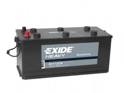 Baterie auto Exide Economy 120ah 680A EH1206 foto