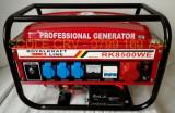 Generator Curent Electric-ROYAL KRAFT-220/380V-3 KW-PORNIRE LA CHEIE, Generatoare uz general