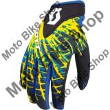 MBS Manusi motocross Scott 250 Implode,culoare albastru/negru,marime L, Cod Produs: 2211861034007