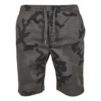 Pantaloni Scurti Barbati Camo Joggshorts gri-camuflaj foto