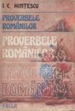 I.C. Hințescu - Proverbele românilor