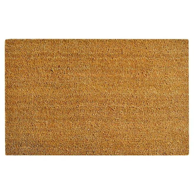 Covor intrare din fibra de nuca de cocos, 17 mm, 40 x 60 cm
