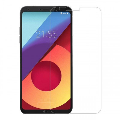 Folie plastic protectie ecran pentru LG Q6 M700 foto