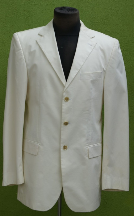 Costum alb  Tommy Hilfiger foto mare