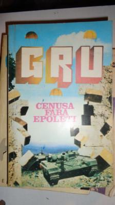 CENUSA FARA EPOLETI  / ROMANUL UNUI SPION 348PAGINI= SUVOROV foto