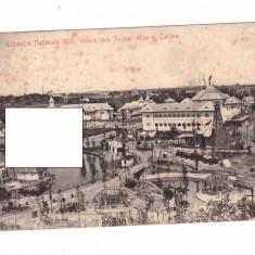 CP Bucuresti - Expozitia Nationala 1906, circulata, dantelata