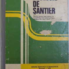 GEOLOGIE DE SANTIER - MANUAL PENTRU LICEE INDUSTRIALE CU PROFIL DE MINE - PETROL - GEOLOGIE , CLASELE A XI -A SAU A XII -A SI SCOLI DE MAISTRI de CO