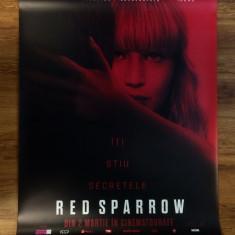 Poster Red Sparrow 93.5 x 70 cm - Film Colectie, Alte tipuri suport, Altele