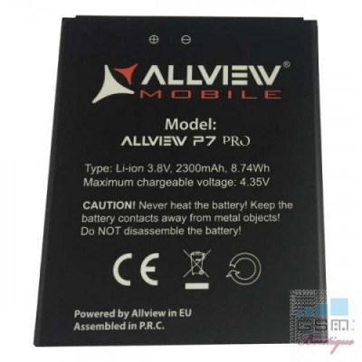 Acumulator Allview P7 Pro nou original foto