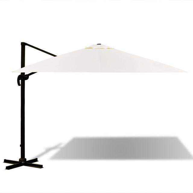 Umbrela Roma din aluminiu 3 x 3 m foto mare