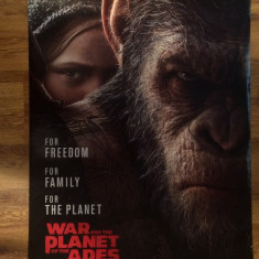 Poster War for the Planet of the Apes 101.5 x 68.5 cm - Film Colectie, Alte tipuri suport, Altele