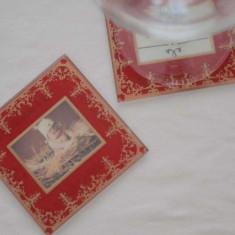 Marturii nunta/botez-suport pahare rama foto