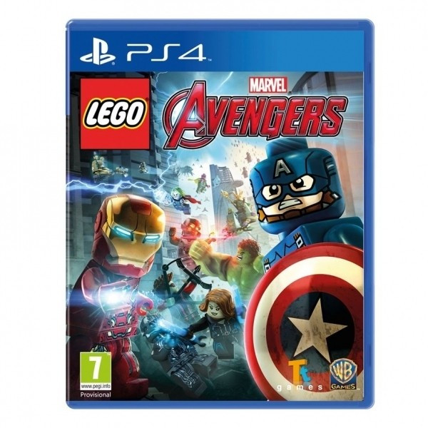 Lego Marvel Avengers PS4 foto mare