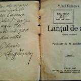 Eminescu, LANTUL DE AUR, Cluj, 1927 - cu dedicatia editorului