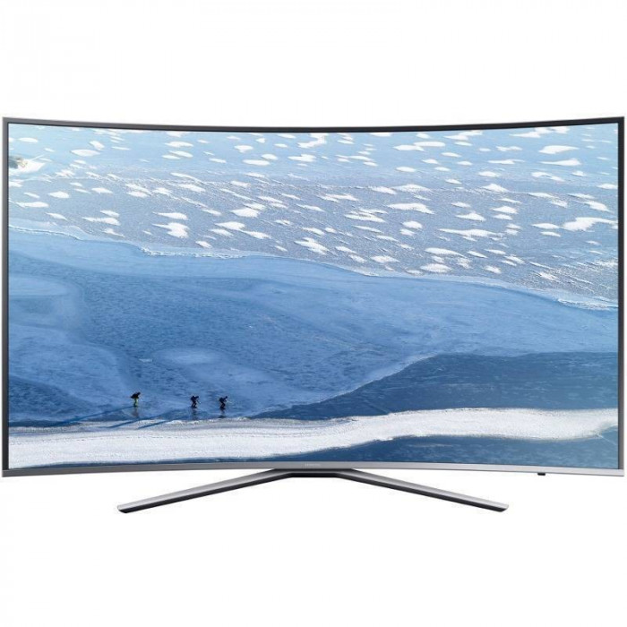 Televizor Samsung LED Smart TV Curbat UE78 KU6502 Ultra HD 198cm Grey foto mare